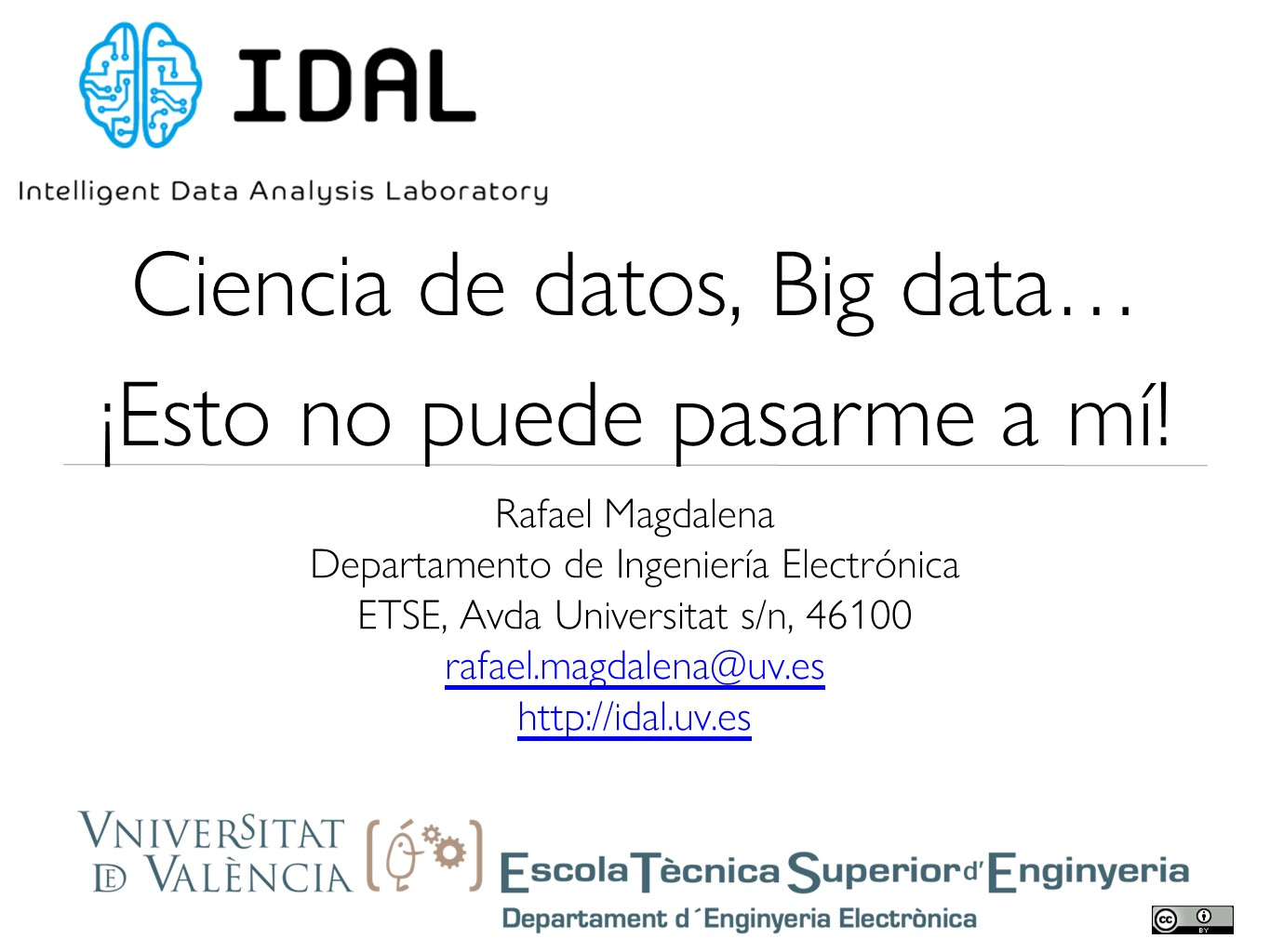 Talk about Data Science for SME